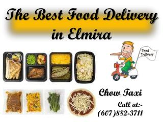The Best Food Delivery Elmira