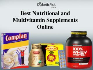 Buy Nutrition Supplements Online in India