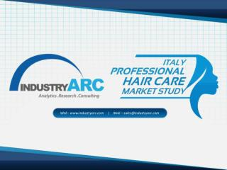 Italy Professional Hair Care Market