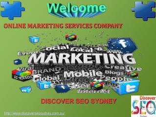 Online Marketing Services Company Sydney