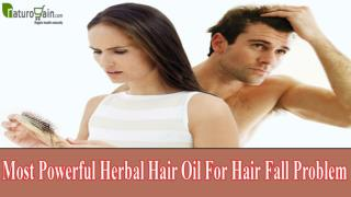 Most Powerful Herbal Hair Oil For Hair Fall Problem