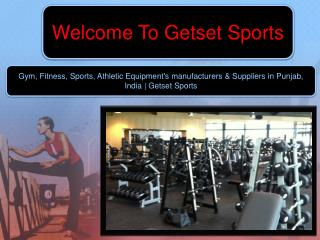 Gym & fitness equipments manufacturers in india