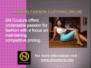 Womens Fashion Clothing Online | Affordable Womens Clothes