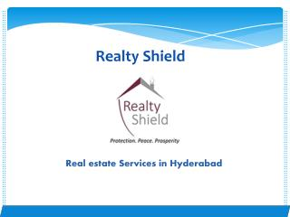 Real estate services in hyderabad