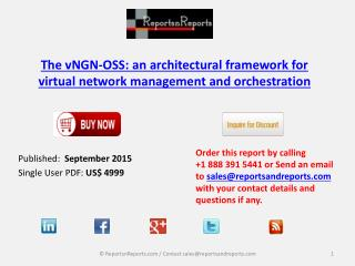 Market Growth Research on vNGN-OSS Architectural Framework for Virtual Network Management and Orchestration