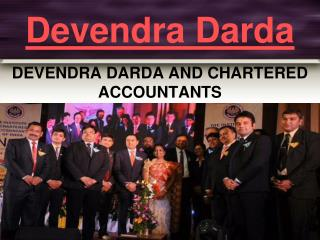 DEVENDRA DARDA AND CHARTERED ACCOUNTANTS