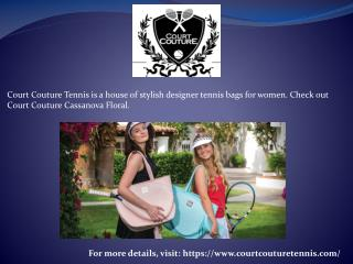 Court Couture Tennis Fashion Difference