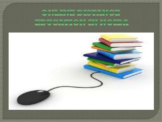 Online Distance Education in Noida @8527271018