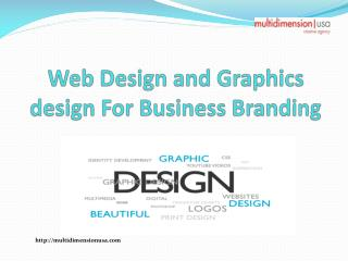 Web Design and Graphics Design for Business Branding