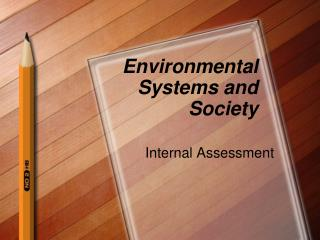 Environmental Systems and Society