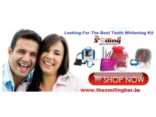 Best Home Teeth Whitening Products India The Smiling Bar