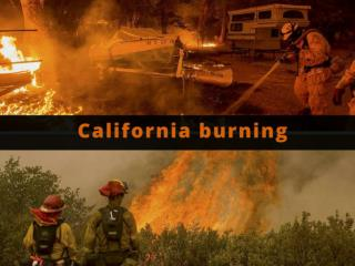 California burning