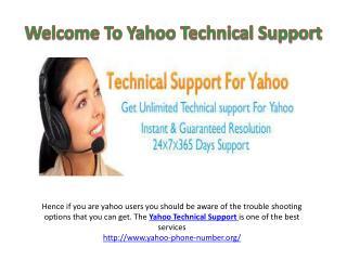 Yahoo Phone Number