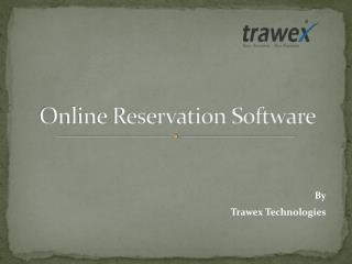 Online Reservation Software