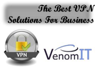The Best VPN Solutions For Business