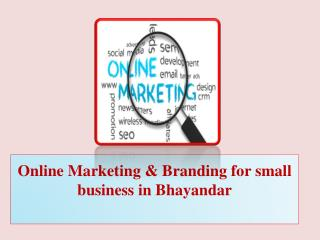 Online Marketing & Branding for small business in Bhayandar