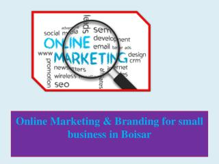Online Marketing & Branding for small business in Boisar