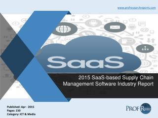 SaaS-based Supply Chain Management Software Industry Share, Market Specification 2015