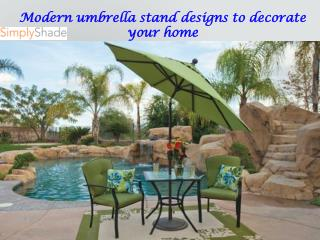 Modern umbrella stand designs to decorate your home