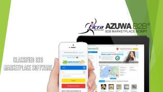 Azuwab2b eCommerce Marketplace Script by Eicra Soft