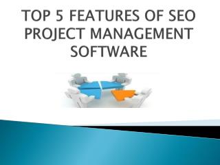 SEO Project Management Software