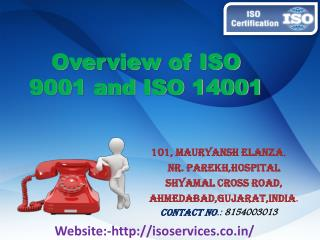 Overview of ISO Certification