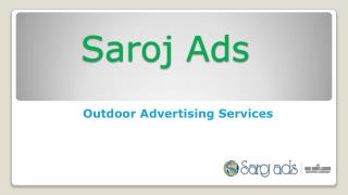 Outdoor Advertising Agency, Services in India, Chennai, Delhi, Bangalore
