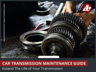 Transmission Maintenance - Easy and Simple Tips!