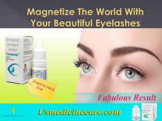 Magnetize The World With Your Beautiful Eyelashes