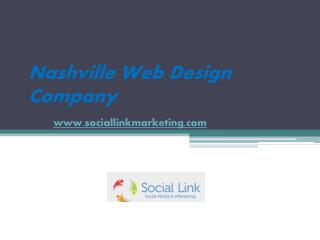 Nashville Web Design Company - Very Creative and Affordable - www.sociallinkmarketing.com