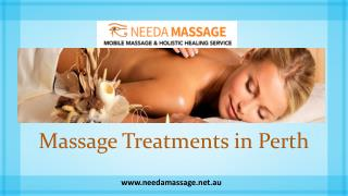 Massage Treatments in Perth - Needa Massage