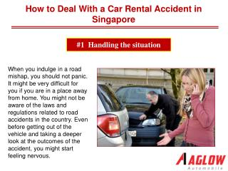 How to Deal With a Car Rental Accident in Singapore