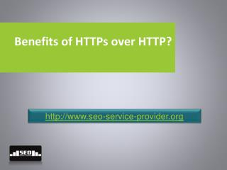 Benefits of Https Over Http