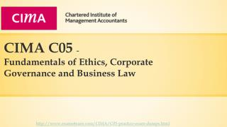 Cima C05 question papers and answers