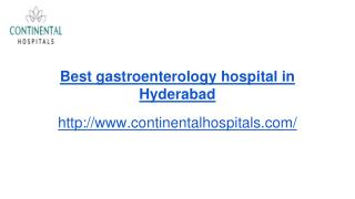 Best gastroenterology hospital in Hyderabad