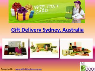 Gift Delivery Sydney Western Australia - Gifts 2 The Door