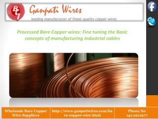 Bare Copper Wire Manufacturing Company
