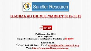 Global Research on AC Drives Market to 2019: Analysis and Forecasts Report