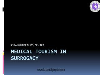 Medical  Tourism on Surrogacy