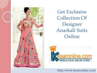 Anarkali Suits | Buy Anarkali Suits Online