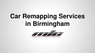 Car Remapping Services in Birmingham At MTC