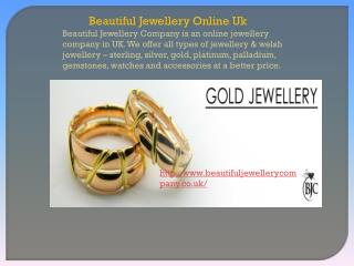 Beautiful Jewellery Online Uk