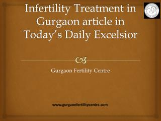 Infertility treatment in gurgaon