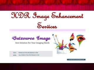HDR Image Enhancement Services