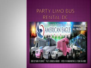 Washington DC Limo Tour