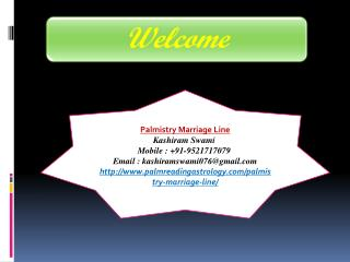 Palmistry Marriage Line, contact no.- 91-9521717079