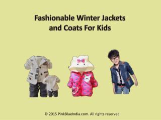 Fashionable Designer Winter Jackets for Children's