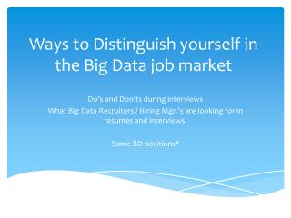 DeZyre InSync- Interview tips to get hired by Big Data Hadoop Companies.