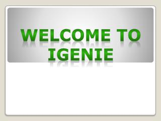 Igenie Provides All Home Services
