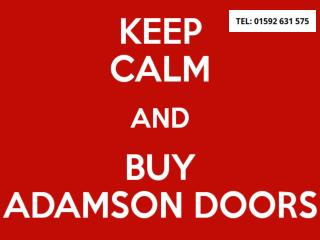 Keep Calm and Buy Adamson Doors